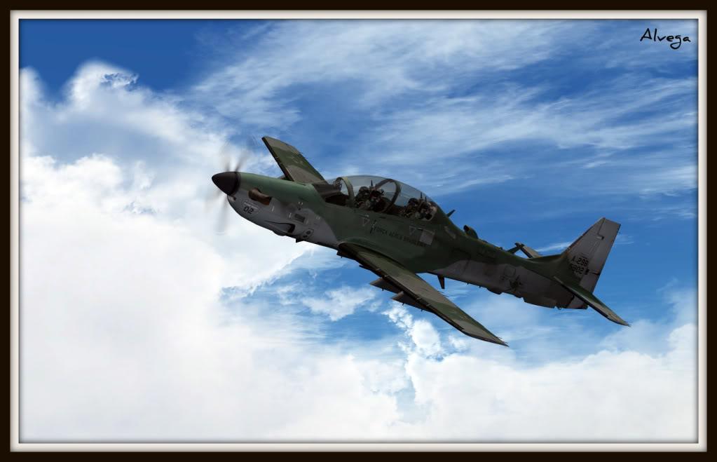 [FSX] A29b Super Tucano Força Aérea Brasileira Tucano9