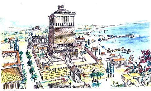 من عجائب الدنيا وغرائبها Halicarnassus1