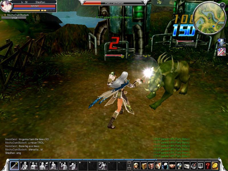 Cabal Online Cabal-mesh_Len_slaps_a_Pantherhorn