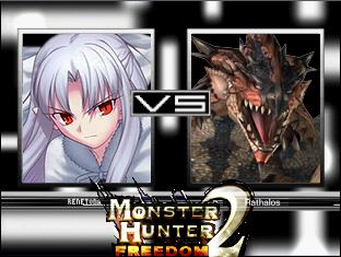 Monster Hunter 1 & 2 Diary Me-vs-Rathalos