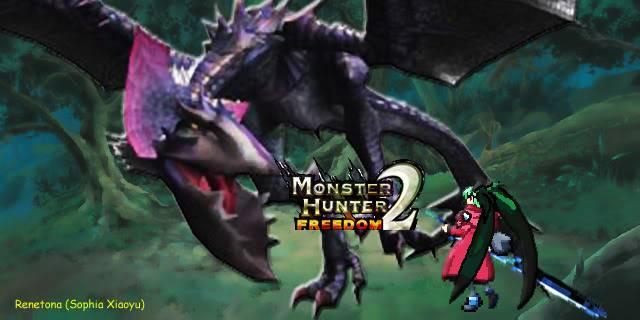 Monster Hunter 1 & 2 Diary MonsterHunterFreedom2-Vs_Garuga