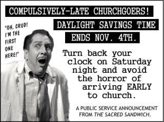 Daylight Saving Time - Page 2 Late