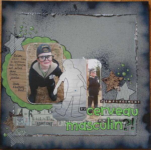 Novembre - Décembre 2010 Emplacementducerveaumasculin