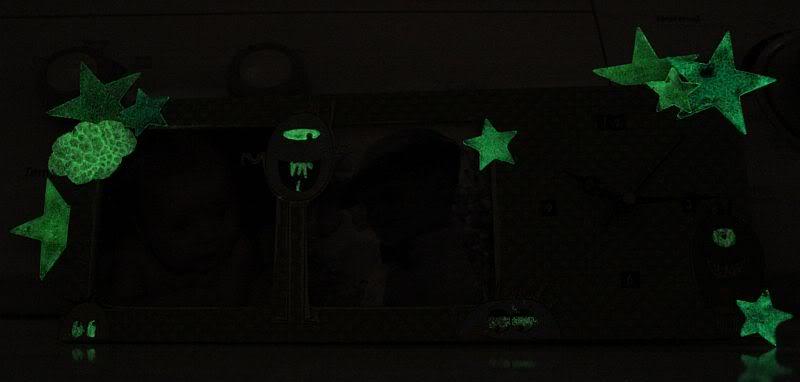 La poudre à embosser phosphorescente Harmonie2