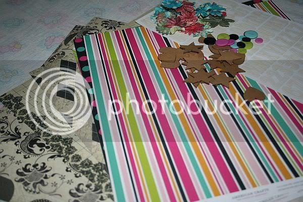Kit DT mars 2011/ Making memories (paper reverie) American Craft (teen) Mars