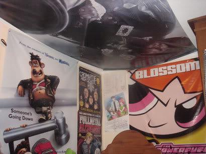 Manga, Cd's, Comic, Movie Banners O_o BED