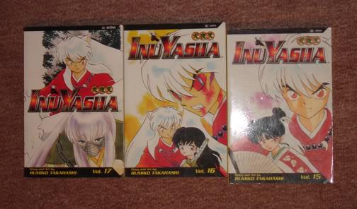 Manga, Cd's, Comic, Movie Banners O_o Inyasha