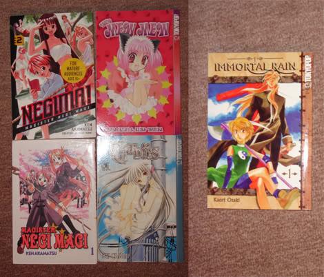 Manga, Cd's, Comic, Movie Banners O_o Manga