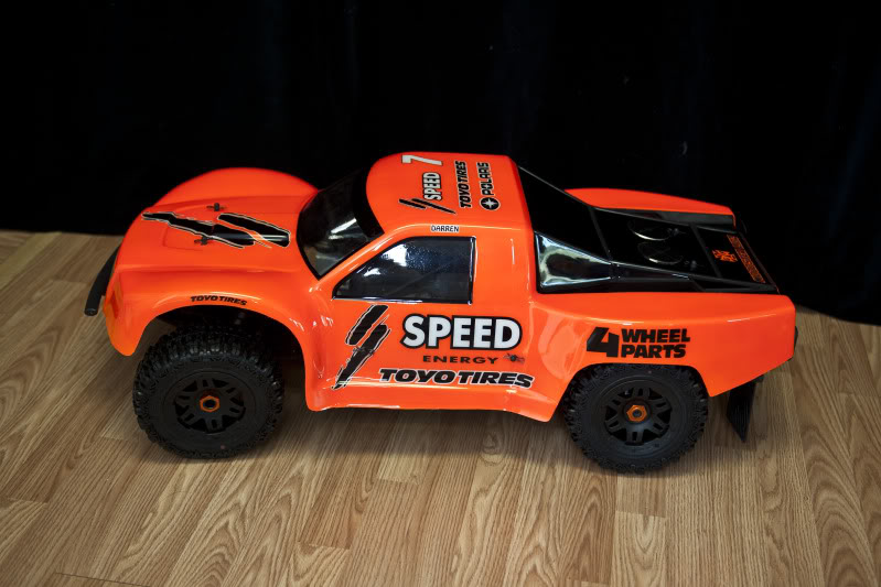 Woodster Wide SCT bodyshell for HPI Baja 5T/5SC DSC20