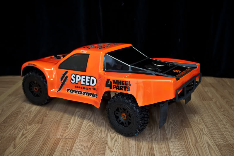 Woodster Wide SCT bodyshell for HPI Baja 5T/5SC DSC21