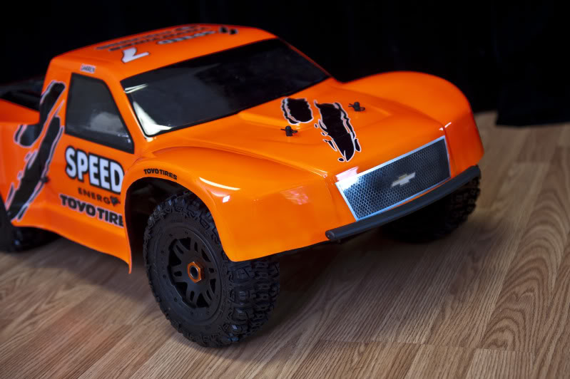 Woodster Wide SCT bodyshell for HPI Baja 5T/5SC DSC29