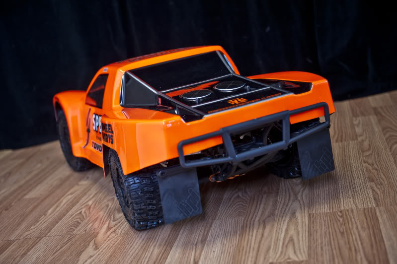 Woodster Wide SCT bodyshell for HPI Baja 5T/5SC DSC35