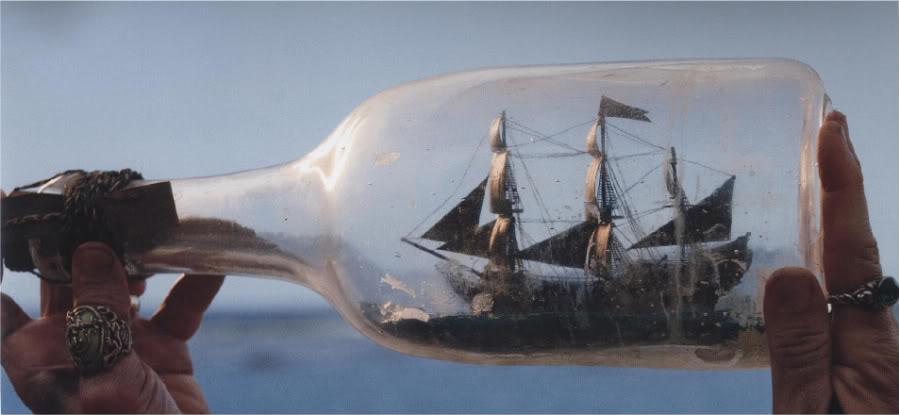 PROP: Ship In A Bottle Pearlinabottle