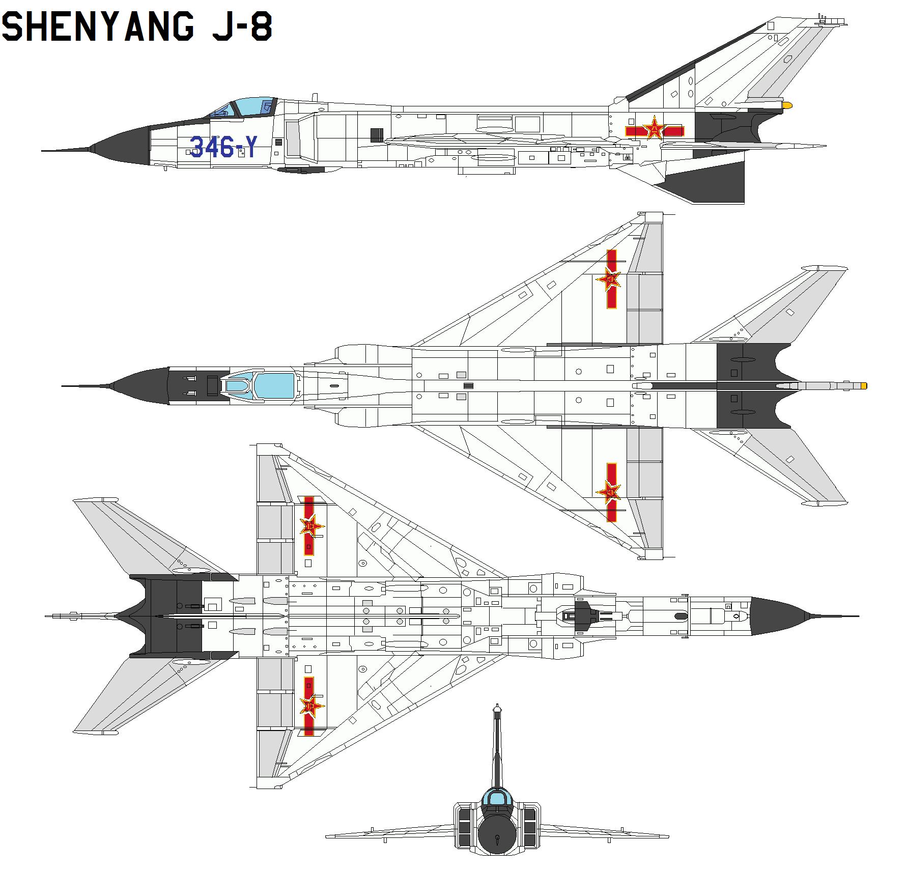 Chasseurs chinois - Page 3 ShenyangJ-8