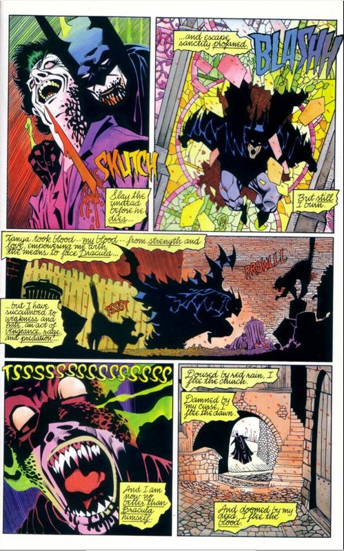 Death of the Joker JokerDiesBatmanBloodstorm