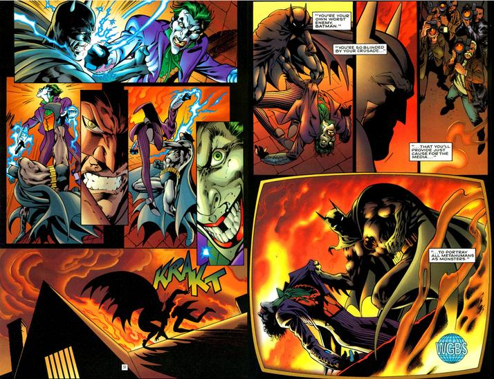 Death of the Joker JokerDiesJLATheNail