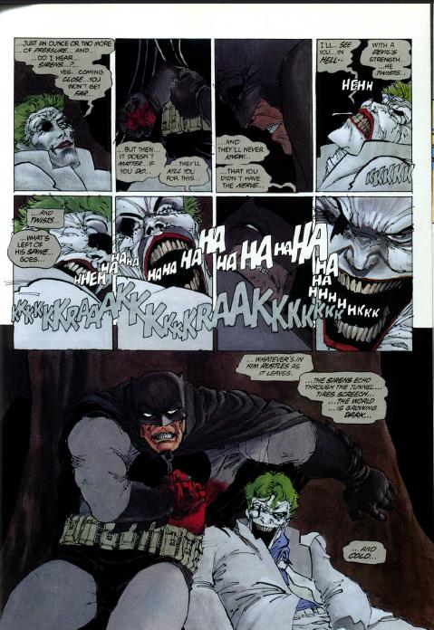 Death of the Joker JokerDiesTheDarkKnightReturns