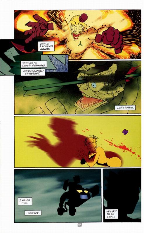 Death of the Joker JokerDiesTheDarkKnightStrikesAgain