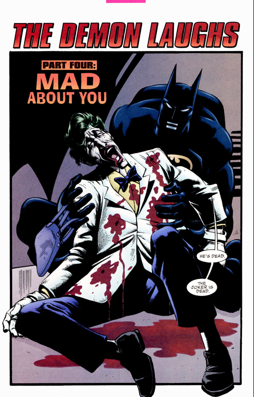 Death of the Joker JokerdiesLegendsoftheDarkKnight