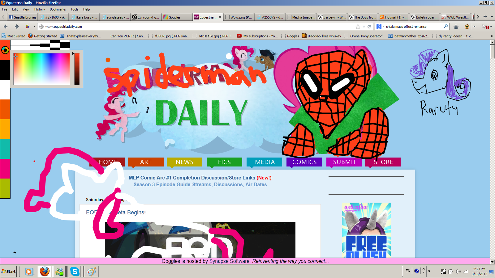 Evrypony! get this now! Spider-man20daily_zps6c0c21c7