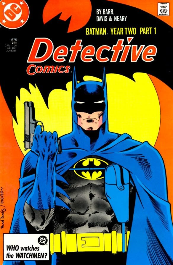 Batman does not use guns. Guns04