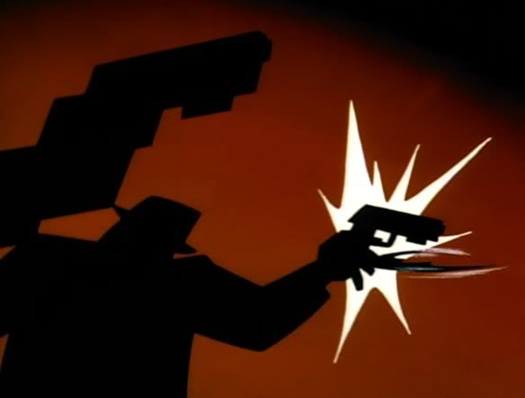 Batman does not use guns. Tas12