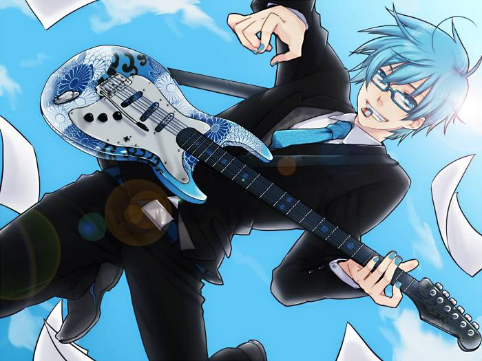"Andrew ""Andy"" Peter Quinn Bluemailguitarkaito"