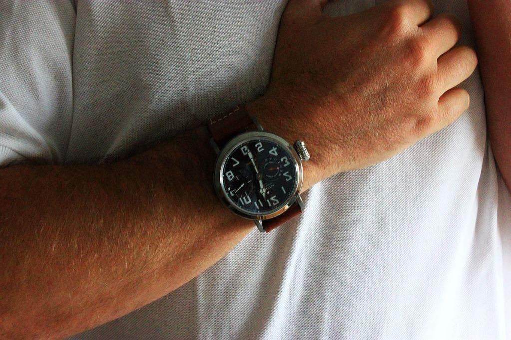 Ma petite, euh Grande, dernière : la Type 20 bracelet de Zenith   - Page 3 Aeronefwristshot2