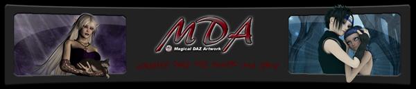 MDA - Magical DAZ Artwork (3d Workshop) Logo_mda