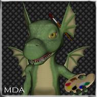MDA - Magical DAZ Artwork (3d Workshop) Maskottchen