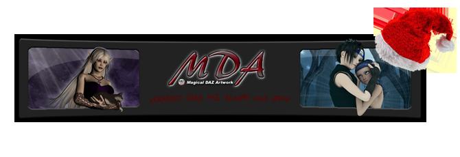 MDA - Magical DAZ Artwork (3d Workshop) Weihnachtslogo
