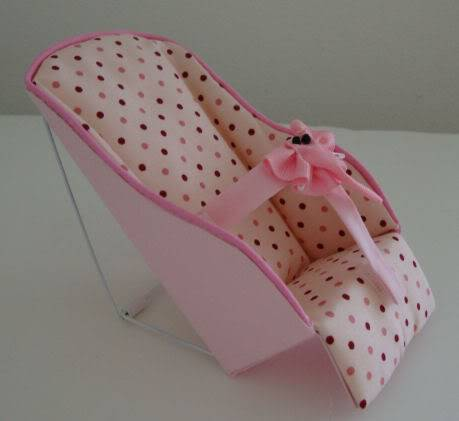 WELCOME TO MARTY'S BABY ACCESSORIES PinkPolkaDotInfantSeat003