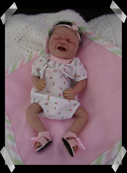 """ADOPTED ...8"""" Baby Abby NOW SOLD!!! LittleAbby011"""