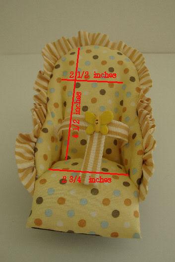 Yellow Polka Dot Infant Seat NOW ON EBAY Polkadotinfantseat3