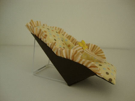 Yellow Polka Dot Infant Seat NOW ON EBAY Polkadotinfantseat011