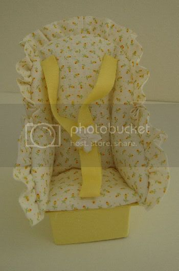 Yellow Flowered Car Seat Gone To EBAY Yellowflowercarseat1016