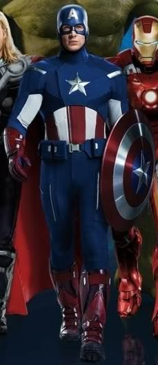 CROSSOVER: Captain America Uniform
