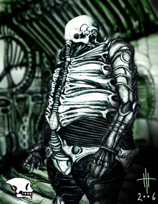 origenes del alien SpaceJockeyAP