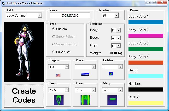 Custom Machine Creator Screenshot-2