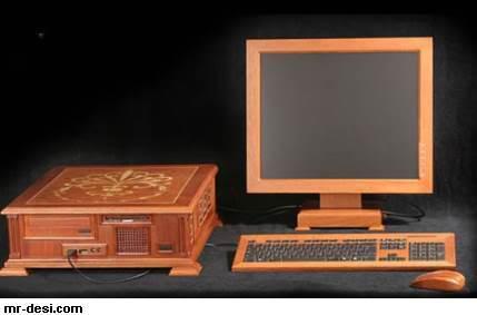 كمبيوتر من خشب 11