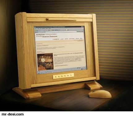 كمبيوتر من خشب 3