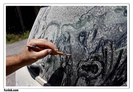 فـن الرسم على العلكه + فن تشكيل اقلآم الرصآصــ +الرسم علىآ غبآر السيآرآتـ  05086fb8