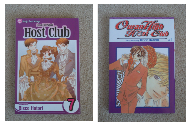 [SELLER] Room Clearout: Manga, books, DVDs & more~ Ouran