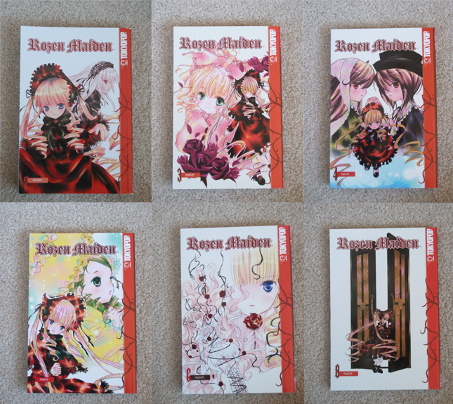 [SELLER] Room Clearout: Manga, books, DVDs & more~ RozenMaiden
