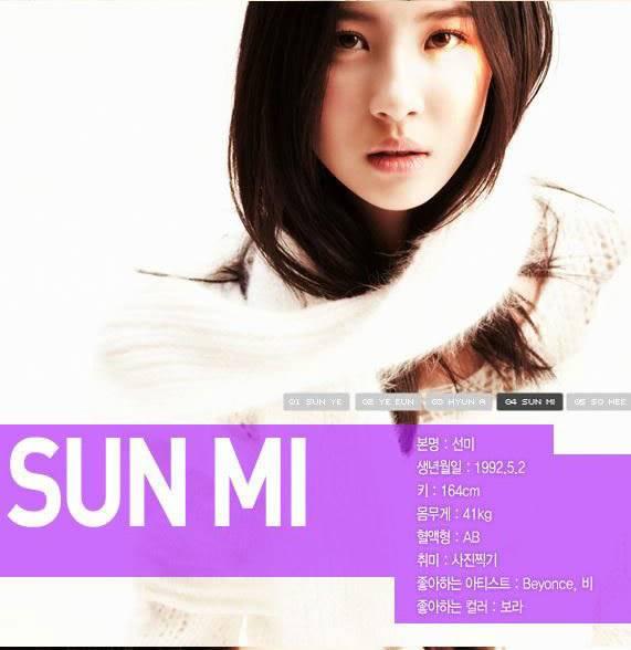 [color=darkred]DBSK-DongBangShinKi-những vị thần đến từ phương Đông[/color] _sun-mi