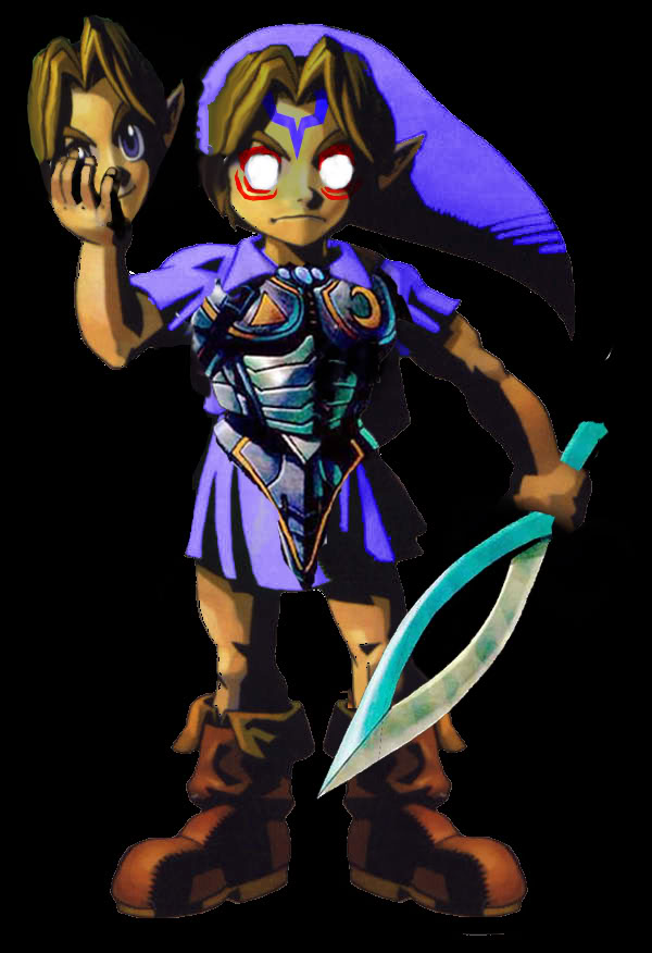 The 'REAL' Young Link From Majora's Mask. OniYLink