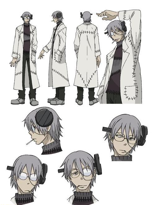 soul eater anime DrStein