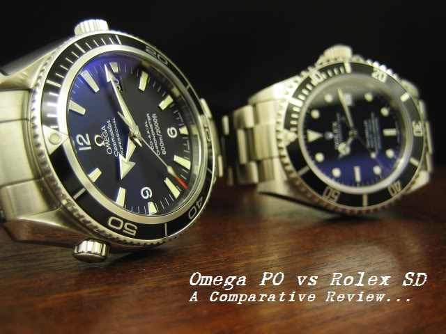 Comparatif interessant PO / SD 01