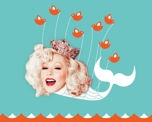 [Tema Oficial] Christina Aguilera ya tiene Twitter @TheRealXtina + Todos sus Tweets Xtinatwitterwhale