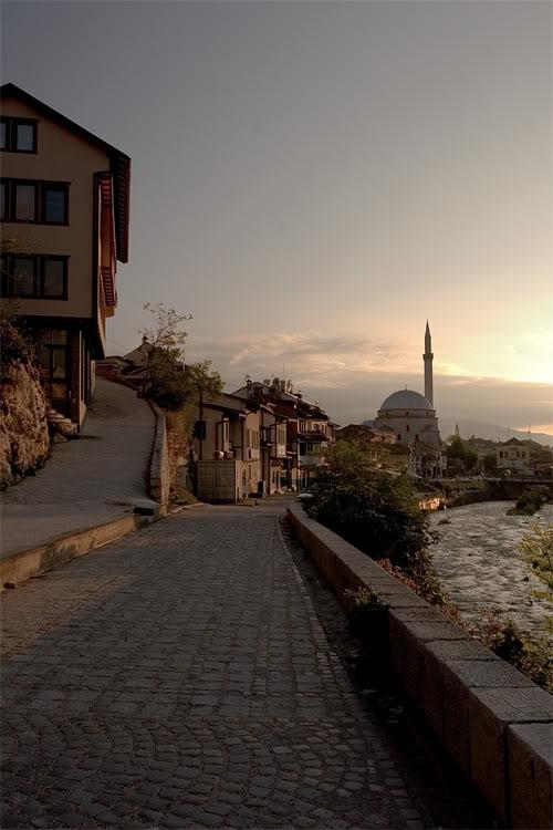 Pamje nga Kosova Prizren_Mianaret